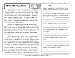 Free-reading-comprehension-worksheets & Fourth Grade Reading ...