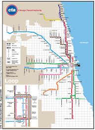 chicago metro map (subway) • mapsofnet