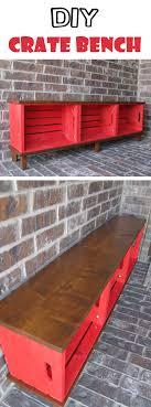 wood crate furniture diy. Functional Furniture: Crate Bench Project Wood Crate Furniture Diy F