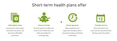 short term medical insurance
