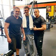 Alex Ardenti — OGs in the OG @goldsgymvenice1 . I've known these...