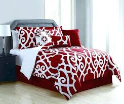 redsox bedding comforter comforter sets red black and queen set bedding king inside red boston
