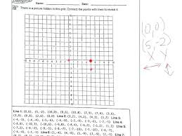 Small Size A Coordinate Grid Paper Plane Worksheets Beautilife Info
