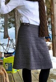 Knit Skirt Pattern Extraordinary I Think I Want To Knit A Skirt There Are Several Really Pretty Ones