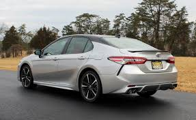 camry 2018 silver. 2018 toyota camry xse celestial silver rear left
