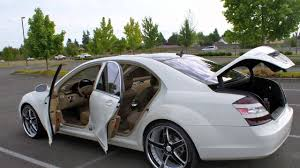 2007 Mercedes-Benz S550 Custom Wheels - YouTube