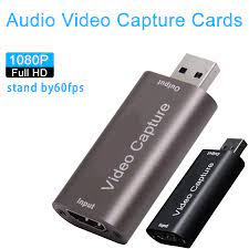 Mới Mini 4K Video Card Bắt 1080P HDMI Tương Thích Để Chơi Game USB Ghi Âm  Hộp Cho PS4 Trò Chơi máy Quay Phim Ghi Hình Trực Tuyến