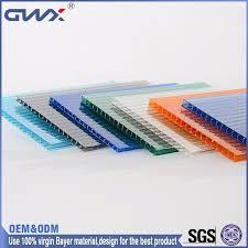 Precio Competitivo De Plástico Reforzado Con Fibra De Vidrio Paneles De Plastico Transparente