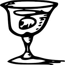 tom wine glass clip art free vector 61 03kb