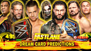 WWE Fastlane 2021 Official Match Card Predictions | After Elimination  Chamber - YouTube