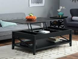 lift top coffee table with storage new caspian espresso up shelf drawers