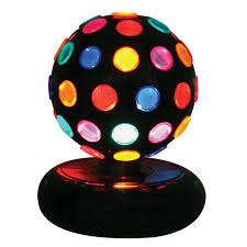 Disco Light Spinner Lumisource Ls Disco 6m Color Rotating Ball Disco Lighting