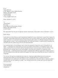 Teacher Assistant Cover Letter Dew Drops