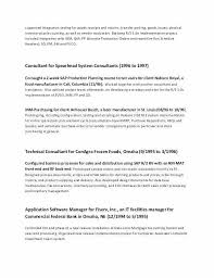 Cto Resume Examples Stunning Samples Of Resumes 48 Unique Cto Resume Example Akba Greenw Co