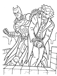 Small Picture Free Printable Coloring Batman And Joker Coloring Pages 38 For