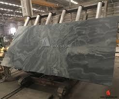 china galaxy dark green granite cross cut slabs with leather finish china green slabs granite slab
