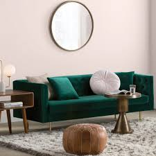 Stylish living room furniture Modern Round Soosk Living Room Furniture Allmodern