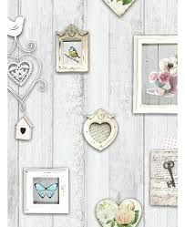 shabby chic wallpaper picture frames large uk