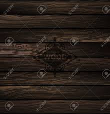 Vector Wood Texture Natural Dark Wooden Background Parquet