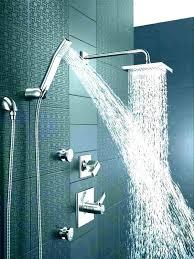 elegant delta bronze shower head handheld heads oil rubbed rain