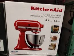 kitchenaid 4 5 quart tilt head stand mixer