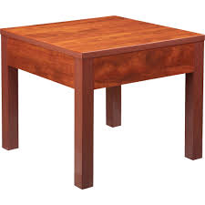 Image Linnmon Click To Enlarge Madill Lorell Occasional Corner Table Square Top Square Leg Base 24
