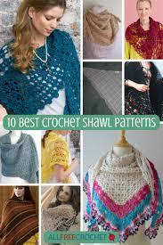 Shawl Patterns Best 48 Best Crochet Shawl Patterns AllFreeCrochet