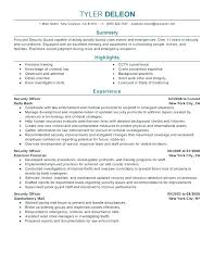 Security Officer Resume Stunning Latex Resume Templates Free Samples Examples Formats Security