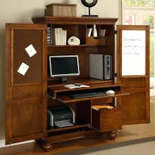 32 desk furniture bright computer armoire w pull out drawer in cherry finish computer armoire w