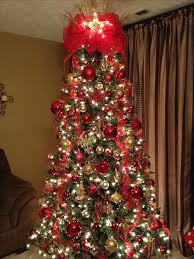 Good Looking Red And Gold Christmas Tree Lovely 128 Best Images On Pinterest