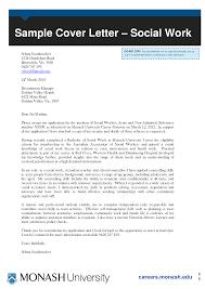 Monash University Cover Letter Samples Granitestateartsmarket Com