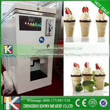 Yogurt Vending Machine Impressive China Automatic Frozen Yogurt Machinesoft Ice Cream Vending Machine