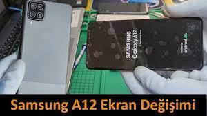 Samsung Galaxy A12 Ekran Değişimi Fiyatı ve Teknik Servisi