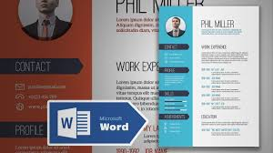 How To Create An Elegant Simple Resume In Microsoft Word Cv Design