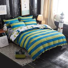 yellow blue plaid bedding sets duvet cover set twin full queen king size bed linen quilt cover bedding flat sheet set pillowcase beddings red bedding from