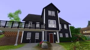 House With Black Trim Black Trim House Amandus