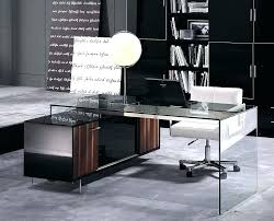 office furniture desks modern desk ultra glass16 modern