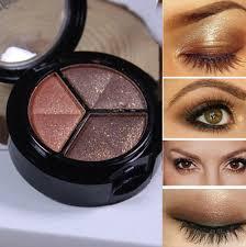 <b>Professional Smoky Cosmetic</b> 3 Color Natural Matte <b>Eyeshadow</b> ...