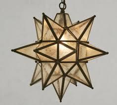 olivia indoor outdoor star pendant