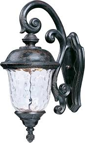 maxim 55497wgob carriage house led traditional oriental bronze outdoor sconce lighting loading zoom