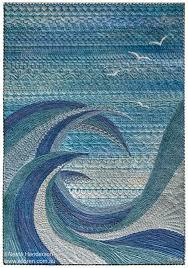 Art Quilts Around The World : Monochromatic 2 - Neroli Henderson -