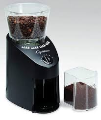 A burr grinder works like a pepper mill in that coffee beans pass through two metal or plastic objects to be ground into pieces. Top 10 Best Burr Coffee Grinders For Your Money In 2019 Art Of Barista