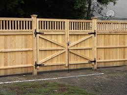 Woodwork Fence Gate Plans For House Garden Exterior Ideas Best