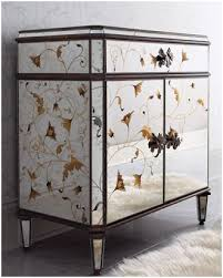 how to make mirrored furniture.  How Glam Furniture  Mirrored Dressers Diy Horchow  Autumnmirroredchest With How To Make Mirrored Furniture