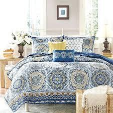 beach duvet cover sets beach quilt bedding sets beautiful nautical beach blue yellow gold white coastal