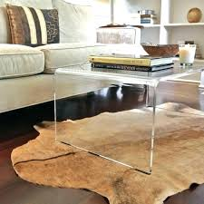 coffee table unique tables breathtaking acrylic gallery plexiglass curved amazing acrylic coffee table