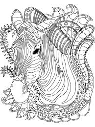 Small Picture 481 best Coloring pages Horse adult coloring images on Pinterest
