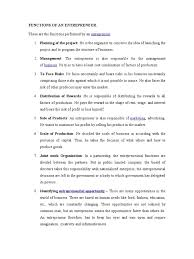 functions of an entrepreneur entrepreneurship business  5 functions of an entrepreneur entrepreneurship business economics