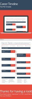 Career Timeline Template Career Timeline Free PSD Template On Behance 5