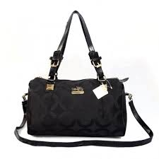 Coach In Monogram Medium Black Luggage Bags CBS